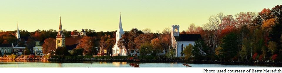 Trinity United Church – Mahone Bay, Nova Scotia